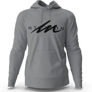 Eclipse MTVTION - Gunmetal Heather Hoodie (Premium Fleece)-money_motivation_brand