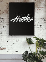 Load image into Gallery viewer, I Am The Hustle Graffito Canvas Print-money_motivation_brand