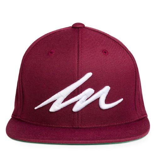 White Sand MM Maroon Cap-money_motivation_brand