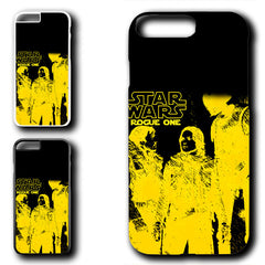 Darth Vader Star Wars Rogue One Movies Gold Logo Iphone 7 Plus Case