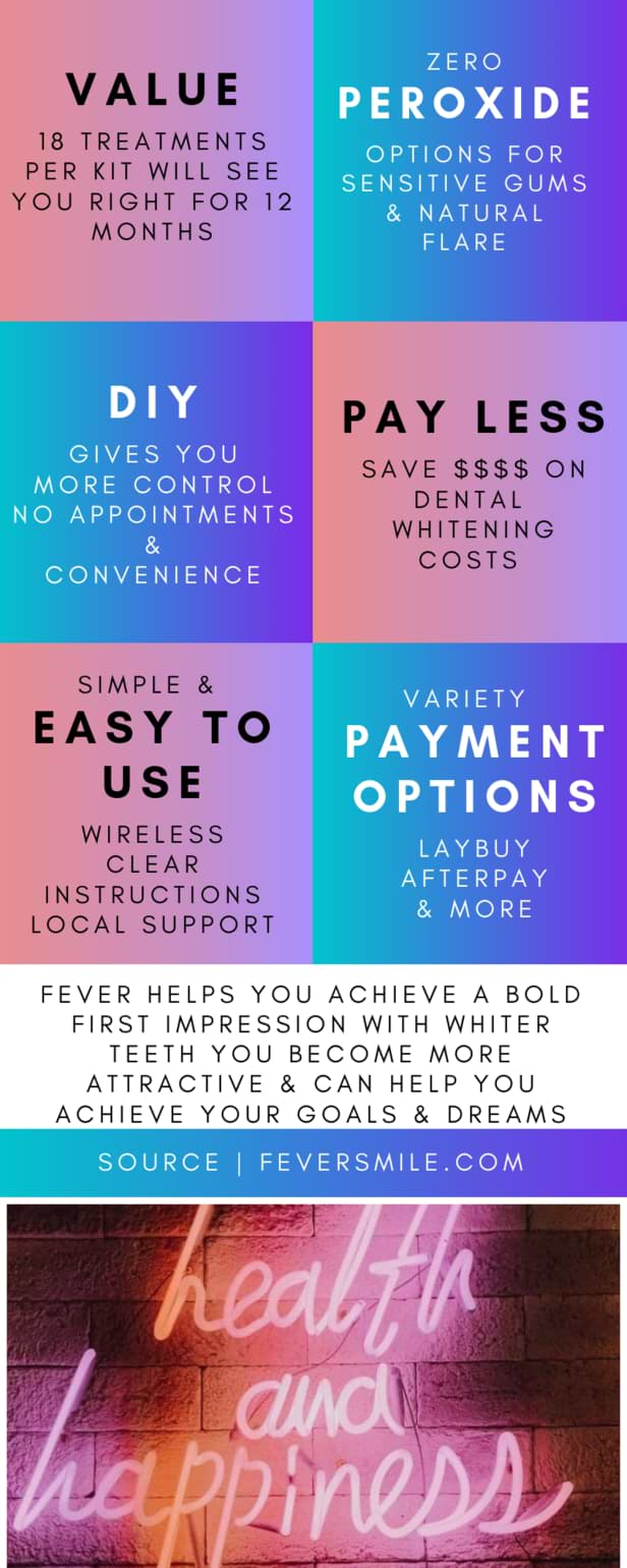 6 benefits of whitening teeth with fever smile