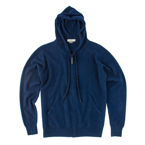 Alfa ,100% Mongolian Cashmere men sports top hooded and front zipper, luxury sport top.