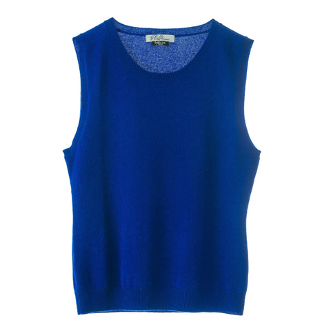 Bella 100% Cashmere Tank Top ,easy to wear super luxurious feel easy fit.