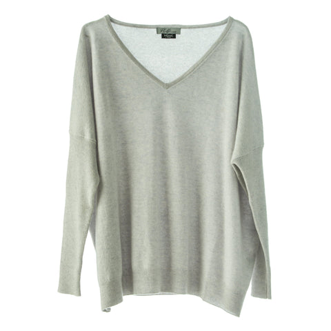 Boyfriend Jumper Light Grey