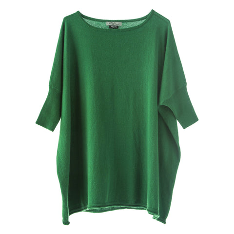 Donna Superfine Cashmere Jumper Emerald
