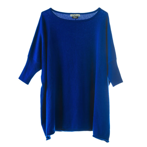 Donna Superfine Jumper Blue
