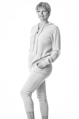 Diana,superfine cashmere  sports top and leggings set