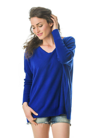 Boyfriend Jumper Royal Blue