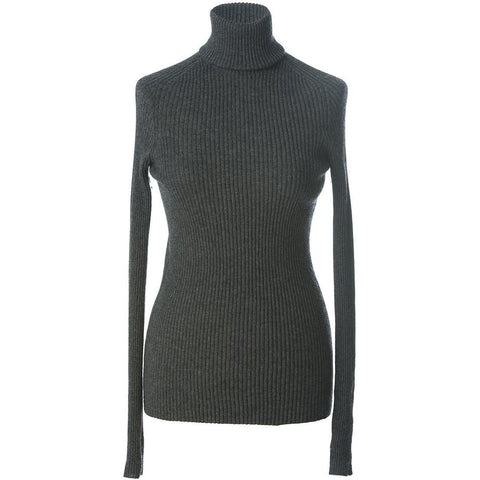 Emma,100% Mongolian cashmere luxury double ply inner fitted jumper ,turtle neck ribbed knit design.