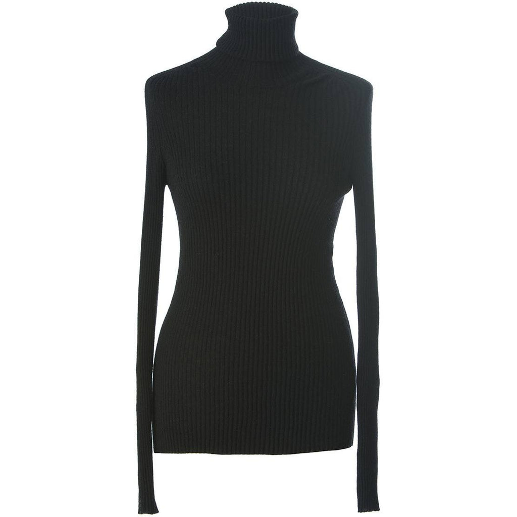 Emma ,Cashmere turtle neck top , fitting double ply cashmere top