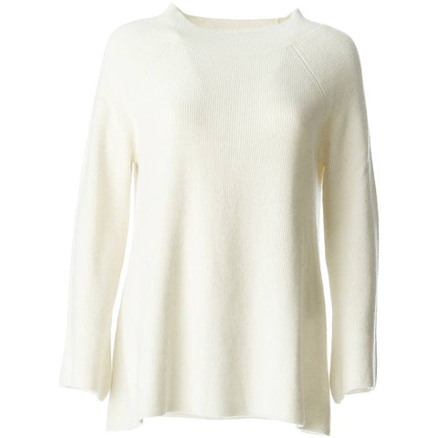 Paris,ladies Cashmere Jumper ,luxury designer mongolian cashmere in white