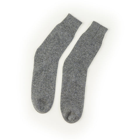 100% Mongolian Cashmere `knitted style luxurious house or bed socks