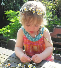 flower garlands for weddings flower girl hair ideas