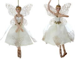 Cream and Gold Fairy Ballerina