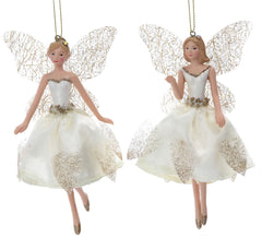 Cream and Gold Fairies