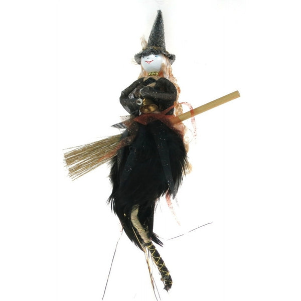 Black hanging fairy kitchen witch