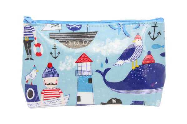Nautical toiletry bag