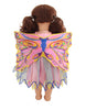 Rainbow Fairy Dolls Dress with Wings
