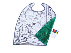 Reversible Colour-Me Dragon Cape