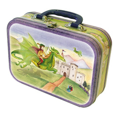 Dragons world storage tin