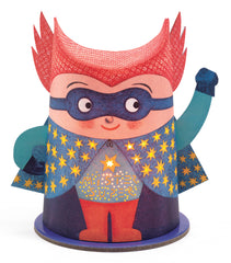 Bedroom night light superhero soft illumination