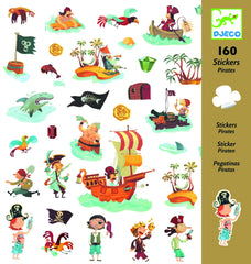 pirate stickers DJECO