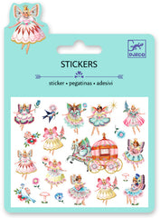 Pretty fairy stickers perfect for unique party favours