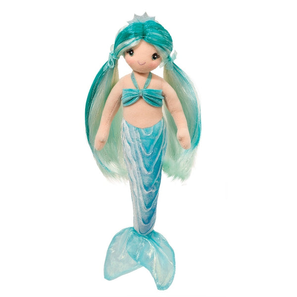 Ciara the Aqua Mermaid Soft Toy with Brushable Hair
