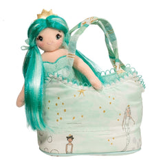 Mermaid in a Bag with Brushable Hair