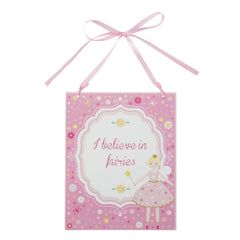 I Believe and I Love You - Fairy Plaques