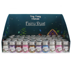 Fairy Dust Bottles - Blue, Pink, Purple, Gold, White, Silver, Red.