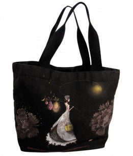 Gorgeous black tote bags UK