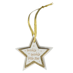 Sass and Belle, Twinkle Twinkle Little Star Christmas Ornament