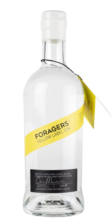 FORAGER'S YELLOW LABEL GIN