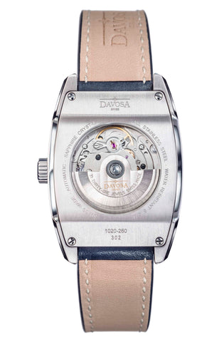 Automatic watch case back