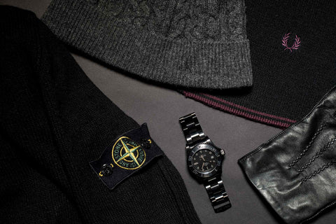 swiss made military automatic watch