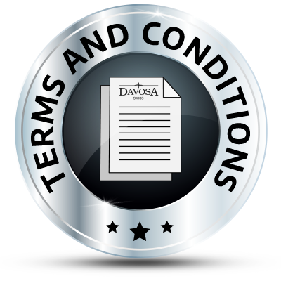Davosa USA terms and conditions