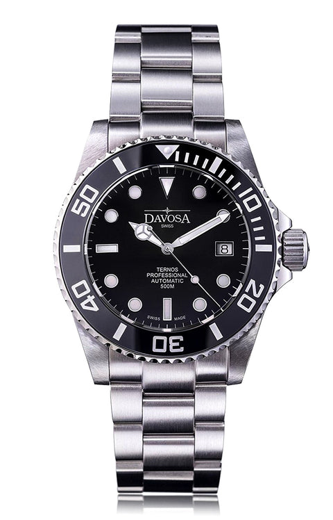 Ternos professional 500m diver automatic 42mm black 16155950