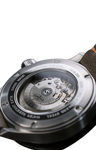 Neoteric pilot 42mm automatic brown-gray 16156596