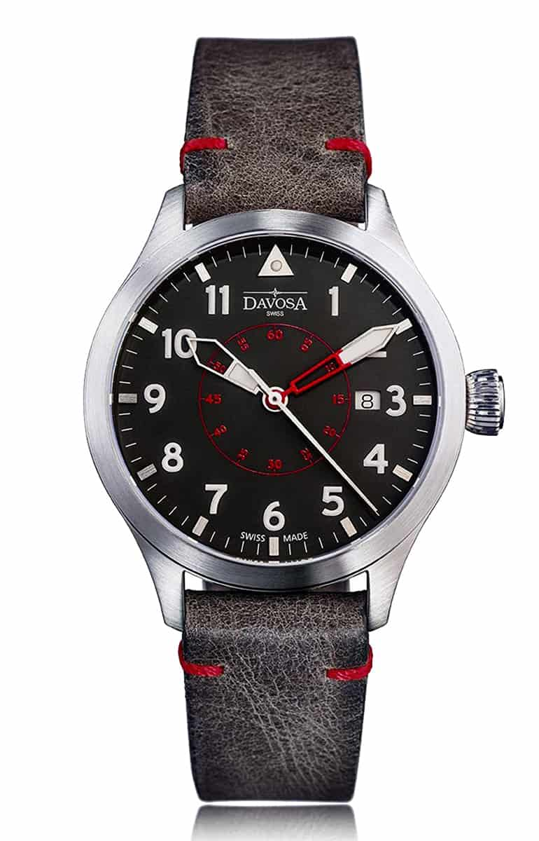 Neoteric Pilot 42mm Automatic Red/Black 16156556