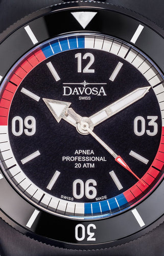 Apnea free diver black pvd 200m automatic 46mm special edition 16157055