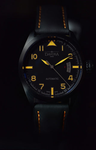 Military black pvd 20atm automatic 42mm - 16151194