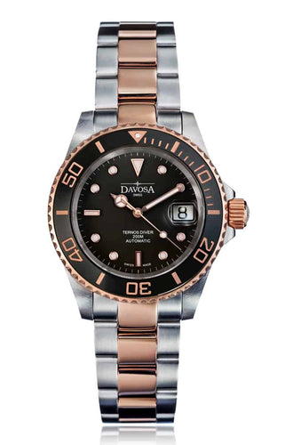 Ternos Ceramic 40mm two tone automatic - black 16155565