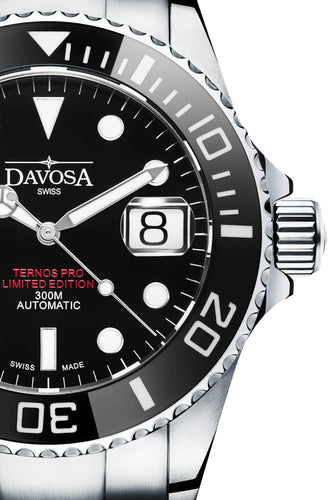 Ternos Pro USA 300m Diver Automatic 42mm Double Red 16155951 Limited Edition