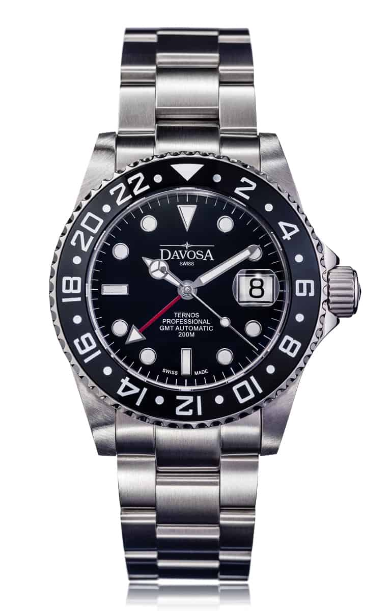 Ternos professional 42mm 200m gmt black 16157150