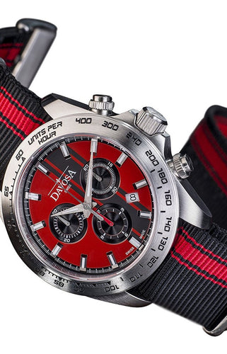 Speedline tx red 42mm chrono 10atm quartz 16248865
