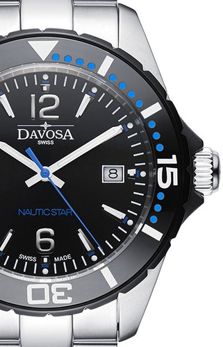 Nautic Star Black/Blue 10 ATM Quartz 16347245