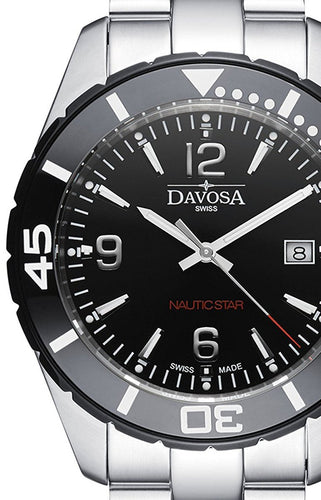 Nautic Star Black 10 ATM Quartz 16347215