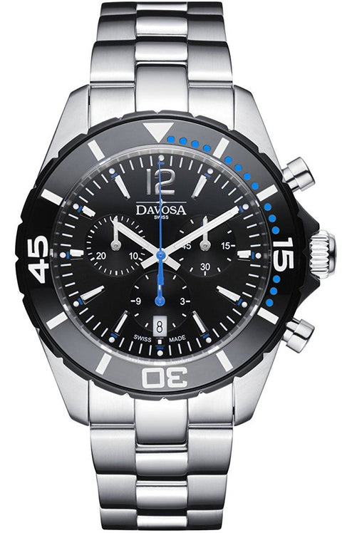 Nautic Star Black/Blue Chrono 10 ATM Quartz 16347345