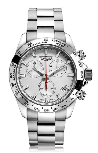 Speedline white 42mm chrono 10atm quartz - 16347015